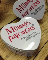 The Bright Side Mummy's Favourites Heart Tin